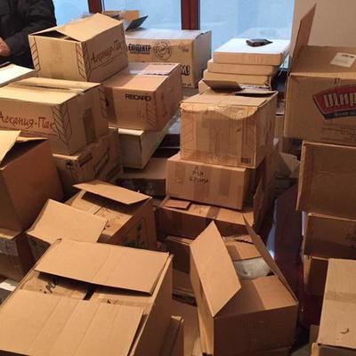 Арестованы контрабандисты продуктов на оккупированные территории