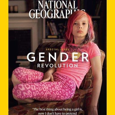 Январский «Nat Geo» впервые выйдет с ребенком-трансгендером на обложке (видео, фото)