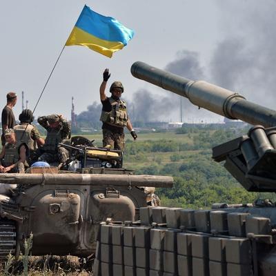 Украинские военные готовятся к наступлению боевиков этой ночью