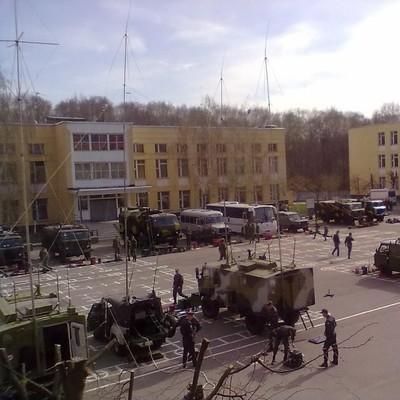 Мощный взрыв на военном складе в России (Видео)