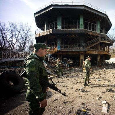 Террористы обстреляли Дебальцево для картинки российским СМИ