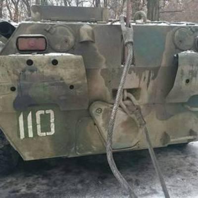 Русские террористы захватили 110 украинцев