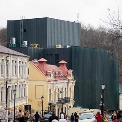 Петиция о демонтаже Театра на Подоле собрала более 10 тысяч подписей