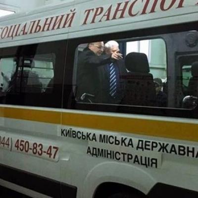 В Киеве появилось бесплатное такси для инвалидов
