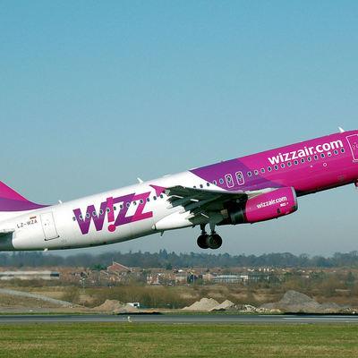 Wizz Air в 2017 году увеличит пассажиропоток киевских маршрутов на 64%
