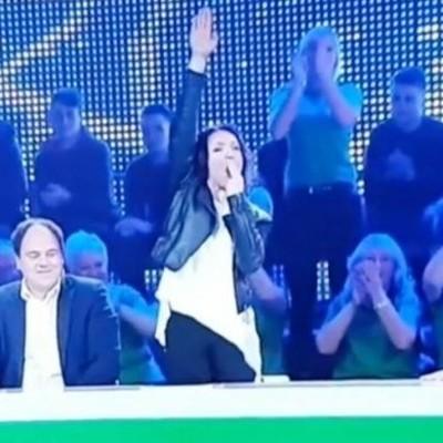 В Литве закрыли телепередачу из-за нацистского приветствия (видео)