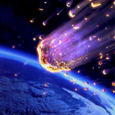 На Россию едва не упал большой метеорит (видео)