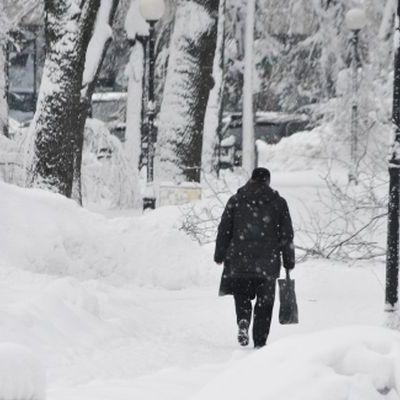 Холодная погода унесла в Европе в целом уже 61 жизнь