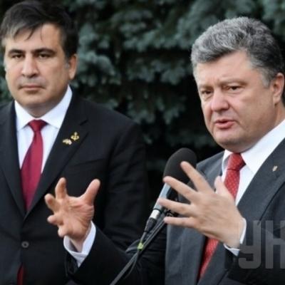 Порошенко и Саакашвили заочно подкололи друг друга