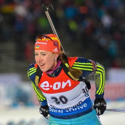 Украинка завоевала «серебро» на чемпионате Европы по биатлону