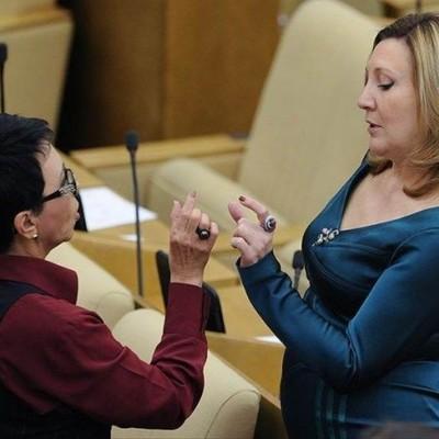 Чем занимаются депутаты на заседаниях Госдумы?(фото)