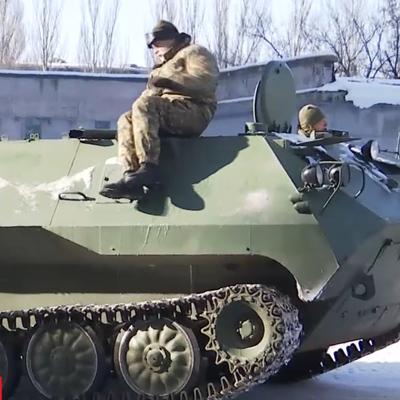 На Донбасс из России въехали несколько армейских колонн