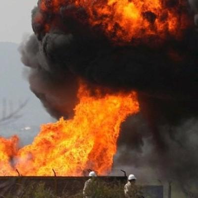 Последствия мощного взрыва в Донецке (видео)