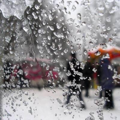 К чему приводит дождь при минусовой температуре, лично испытали киевляне