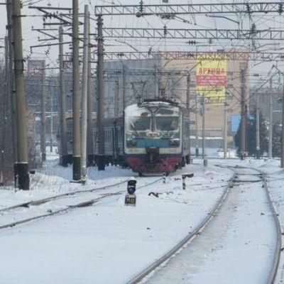 Снегопад в Украине не повлиял на движение пассажирских поездов