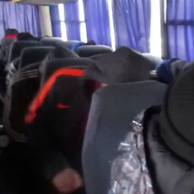 «Вас сюда привезли как стадо!»: в Сети появились кадры «титушек» Ахметова (видео, фото)