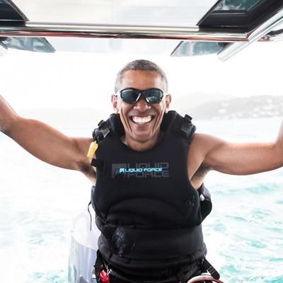 Отпуск Обамы в гостях у миллиардера Брэнсона (Фото, видео)
