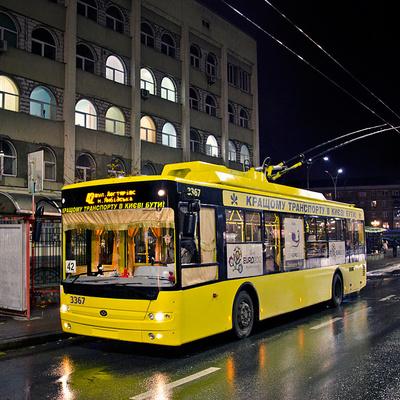 Как изменится график работы ночного транспорта в Киеве