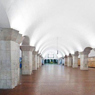 В киевском метро снесли все решетки для задержанных полицией