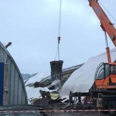 В России обрушилось картофелехранилище, есть погибшие (фото)