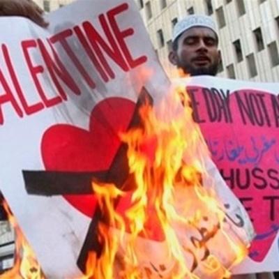 В Пакистане запретили праздновать День святого Валентина