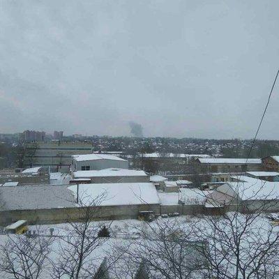 В Донецке произошел взрыв в районе завода химизделий