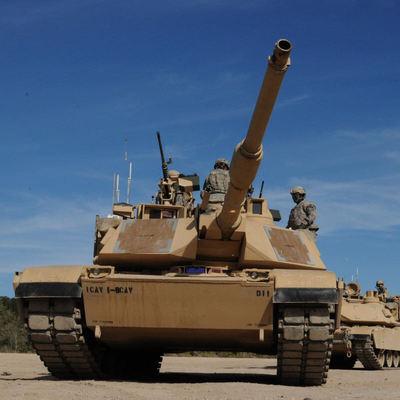 В Румынию прибыли американские танки