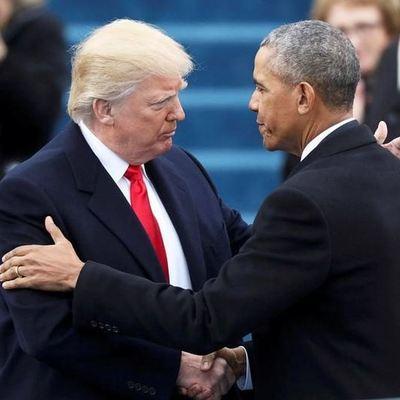 Для странного рукопожатия Трампа нашелся достойный соперник