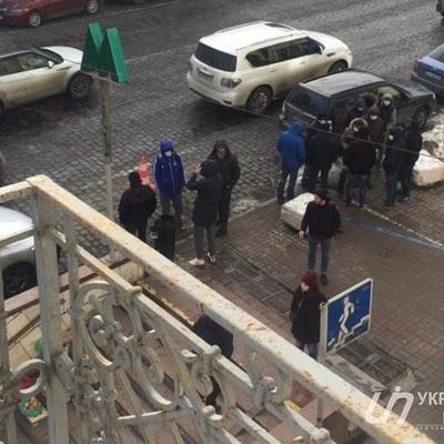 В Киеве напали на главу Института нацпамяти Вятровича