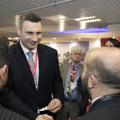Виталий Кличко презентовал инвестиционный потенциал Киева на международной выставке недвижимости MIPIM