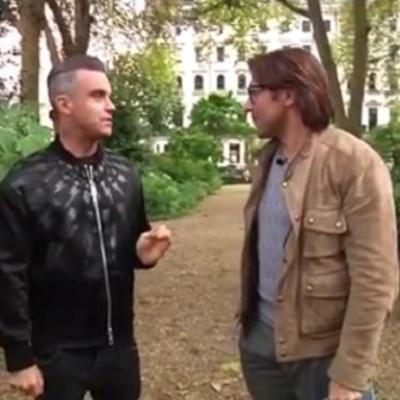 Известный британский певец заявил о желании представить Россию на Евровидении (видео)