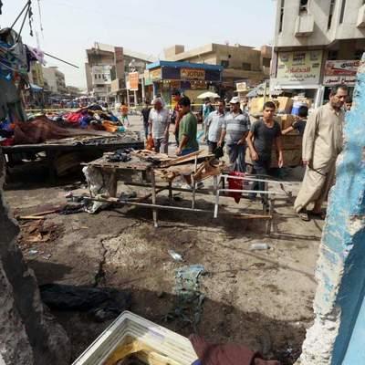 Террорист смертник устроил взрыв в Багдаде, десятки погибших