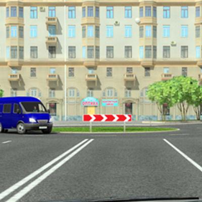 Рада ввела изменения в правила пересечения перекрестка с круговым движением