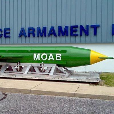 США применили мощнейшую неядерную бомбу против ИГ (видео)