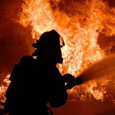 В Киеве произошел большой пожар в районе метро «Академгородок»