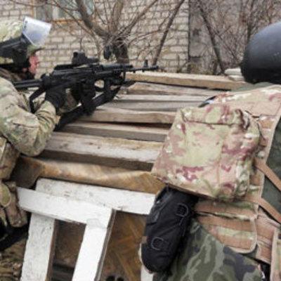 В сеть попало видео уничтожения командира артиллерийского подразделения боевиков