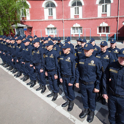Нацгвардию одели в «европейскую» форму перед Евровидением (фото)