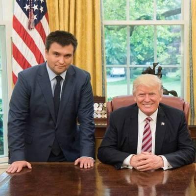 Климкин встретился с Трампом и Пенсом