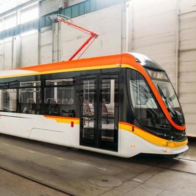 В Украине выпустили новую модель трамвая (фото)