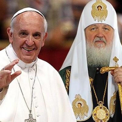 Кто лучше: Соцсети накрыло сравнение понтифика и патриарха