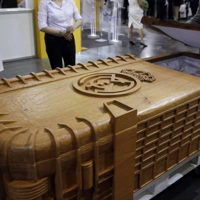В Испании продают гробы в виде стадиона «Реала» (фото)