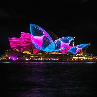 Неимоверная красота: Фестиваль света в Сиднее