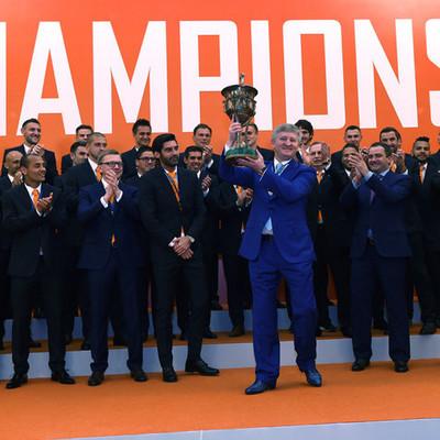 «Шахтер» с Ахметовым получил золотые медали чемпионата Украины