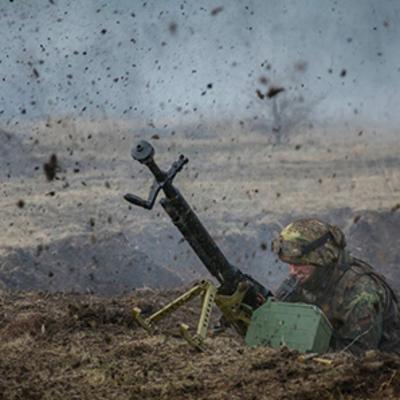 АТО: Боевики били из минометов и артиллерии, двое бойцов ВСУ погибли