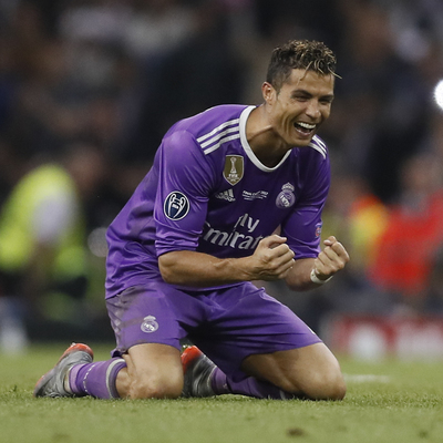 Роналду назвали лучшим игроком Лиги Чемпионов