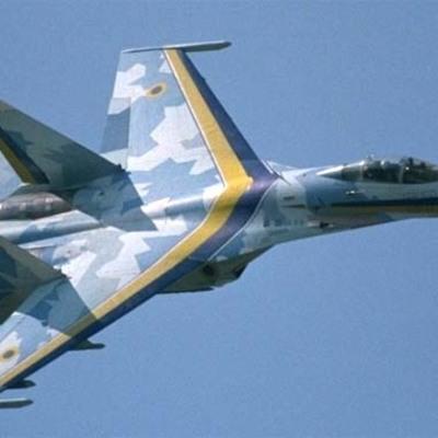 В Крыму российские оккупанты по тревоге подняли в воздух Су-27