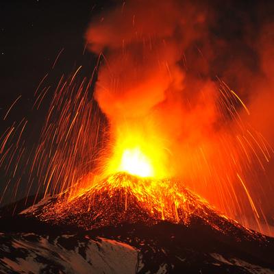 В Японии произошло извержение вулкана (видео)