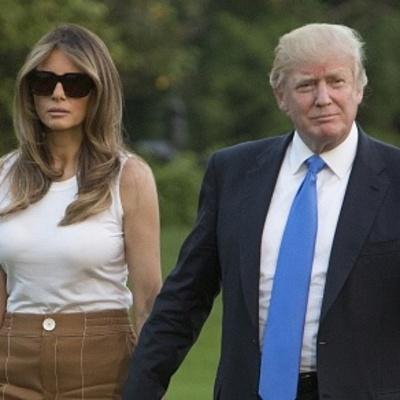 В сеть впервые закинули фото родителей Мелании Трамп
