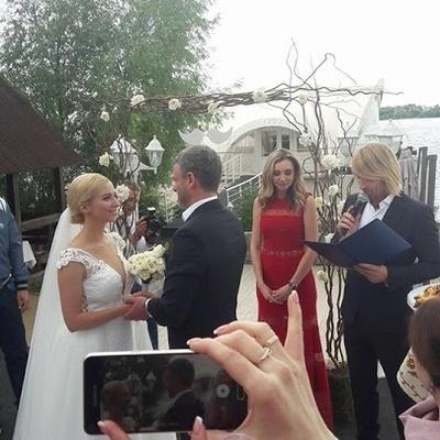 Молодоженов Матвиенко и Мирзояна расписал Олег Винник (фото, видео)