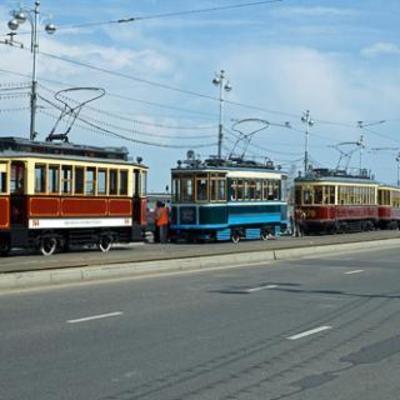 Временные изменения движения транспорта во время «Парада трамваев» на Контрактовой площади
